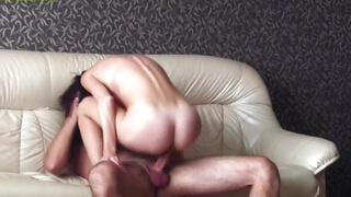 Homemade passionate anal sex russian couple