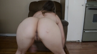 Young Naked Fat White ASS Twerking (TWERKING BUTT GIRL Video 1)