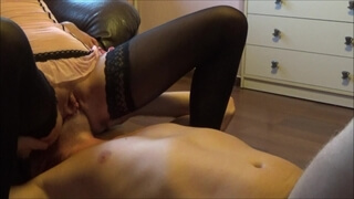 Two Awsome Squirting Orgasms after Face Sitting and Pussy Eatting