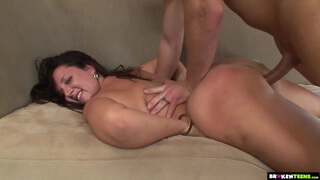 Thick Big Butt Teen Is A Pro Dick Rider