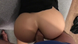 Drunk Stepsister after Party- first Anal