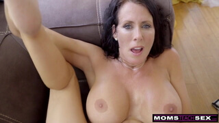 MomsTeachSex - Step Mom And Son Cum Together S9:E1