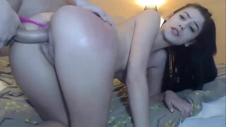 Hot girlfriend fucked hard at home by her BF-Part1