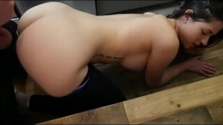 Hot ass amateur girl anal with doggy style live sex