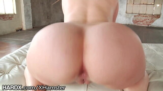 HardX Big Ass White Girl Loves This Daddys Dick Up Her Anal
