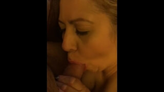 Wife Sucks me and my Buddy in Hotel