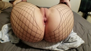 Step Mom Begs for Anal Creampie