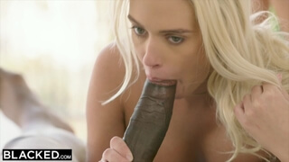 BLACKED Horny Intern can't Stop herself around BBC