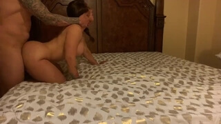 Hidden Camera Fucking my best Friend's Wife, she is a Slut!!
