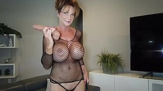 Deauxma in Gregg Lingerie a Fan sent