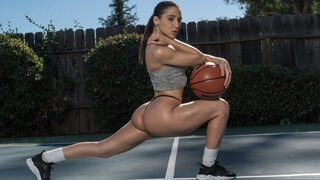 Sex on the Court with Buff Babe Abella