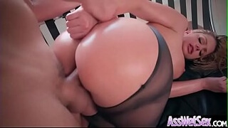 (Brooklyn Chase) Big Butt Girl Love Deep Anal Sex vid-13