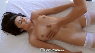 She was pretty happy after this hardcore pussy massage