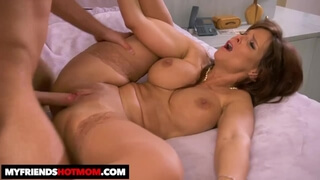 Hot MILF Syren De Mer Loves Young Cock