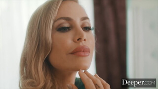 Deeper. Nicole Aniston Gets the Kind of Service She Desires