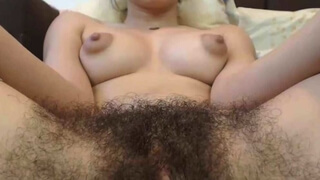Hairy Teen Full Bush