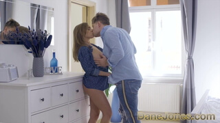 Dane Jones Titfuck with lovely big natural tits babe Josephi