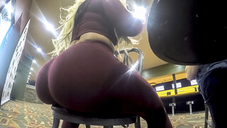 Thickumz - Thick Busty Blonde Has A Thing For Balls