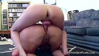 Mature taking it hard in the backdoor