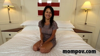 Cute Amateur Mom does first Porn ever