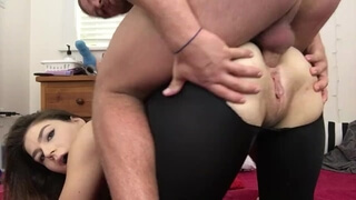 Anal Creampie after the Gym! , Lexa Lite