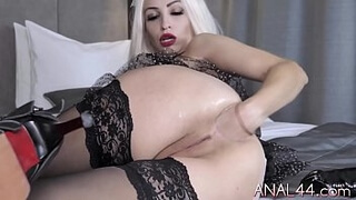 Extreme anal fetish with nasty charlady