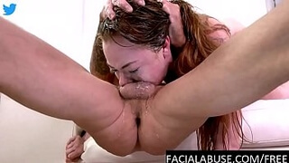 19 year old facefucked and degraded