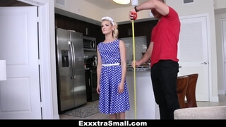 ExxxtraSmall - Miniature Life like Doll gets Small Pussy Destroyed