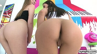NYMPHO Naughty threesome with Jill And Gianna