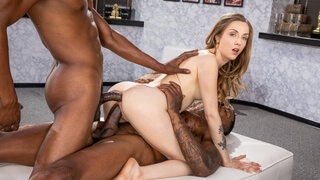 2 BBCs Make Karla Kush Squirt all over!