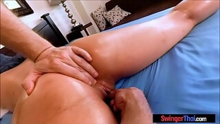 Anonymous Asian big round ass milf gets pussy fingered