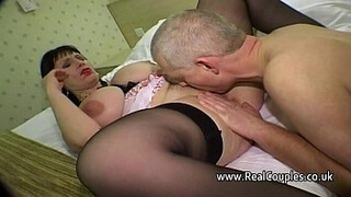 Oral pleasure to her pussy and asshole