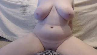 Masturbating till Orgasm like I used to in High School Curvy Pillow Humping