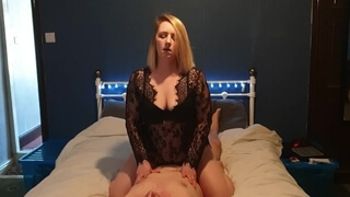 Grinds Big Cock to Multiple Orgasms