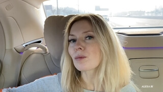Uber Driver in Dubai Fucked me instead of Money and Creampied my Pussy Hard