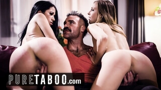 PURE TABOO Bigamist Catches his 2 Wives Cheating on him