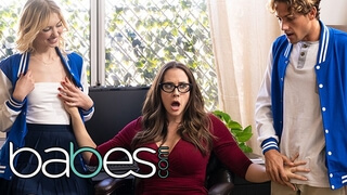 Babes - Stepmom Chanel Preston has Threesome Teens with Chloe Cherry
