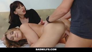 Bad Milfs - Sly Stepmom Catches a Fox