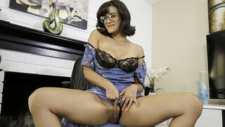 Kinky Stepmom Teaches her Stepson to Jerk off