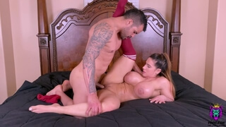 Big Ass MILF Gets Pounded Hard while her Big Tits were Bouncing everywhere