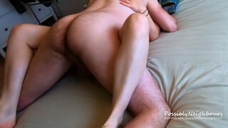 Homemade Sex Tape: Sensual and Cosy After-work Sex - PossiblyNeighbours