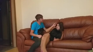 Mature Mom came to her Boyfriend, and Met her Son (full Russian Version)