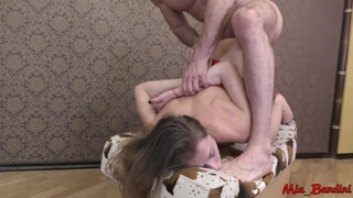 Gorgeous Fit Teen Gets Hard Rough Fuck. Mia Bandini