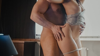 Romantic Afternoon Fuck for Horny Amateur Brunette Teen - 4k