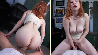 Horny Boss Lady Fyre Fucks your Cock POV in 'the Interview'
