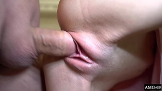 Sexy Girl Blowjob and Fucking with StepBrother - Cum in Mouth