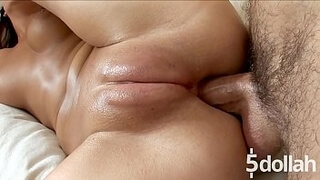 Hard Fuck With Pussy Pump For Slutty Brunette Angela