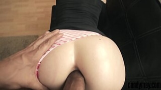 THE ASS OF THIS CHEATING WIFE CAN'T GET ENOUGH OF HER TINDER DATE BBC