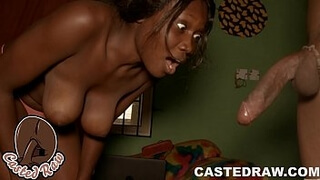 MILF: nigerian mummy shocked at a young stud fucking big dick-prick