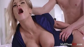 Rachael Cavalli fooled and fucked by fine young man